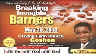 Video Breaking Invisible Barriers (3rd Service ) May 20, 2018 MP3, 3GP, MP4, WEBM, AVI, FLV Mei 2018