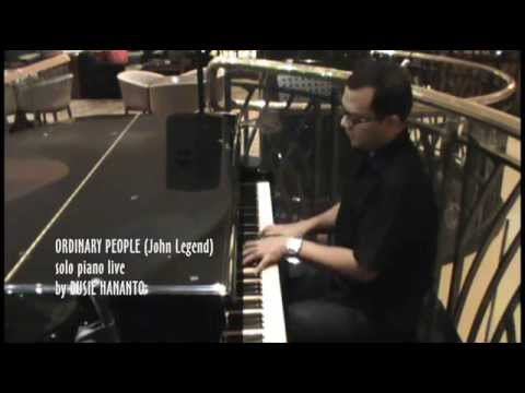 ORDINARY PEOPLE John Legend (Cover) Solo Piano Live By DUSIE HANANTO