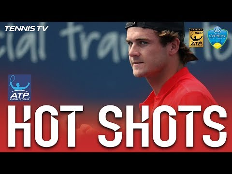 Hot Shot: Tommy Paul Finishes Match In Hot Shot Style In Cincinnati 2017