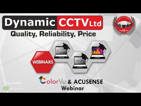 Hikvision ColorVu and Acusense