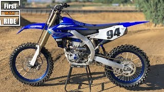 7. First Ride 2020 Yamaha YZ450F - Motocross Action Magazine