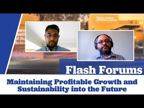 Maintaining Profitable Growth and Sustainability into the Future.