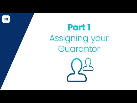 How do I assign my guarantor?