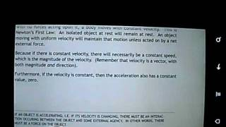Motion/Newt Physics Flashcards YouTube video