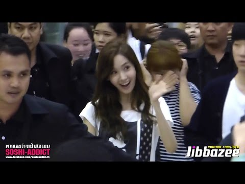 airport - [Fancam] 140726 Yoona at Suvarnabhumi Airport By Soshi-Addict (Jibbazee)