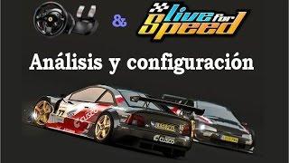 Análisis y configuración del Live for Speed 0.6G, uno de los mejores simuladores de carreras de coches que existe para PC.Subtítulos disponibles.