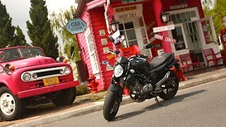 6. 2014 Suzuki Gladius 650 Test Ride