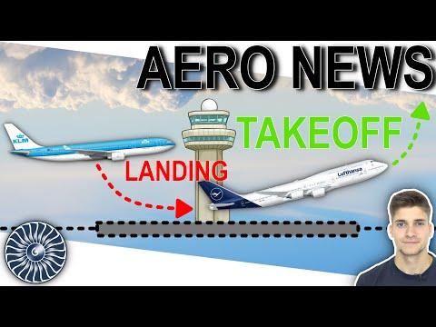 Darf ein Flugzeug landen während ein anderes auf der selben Bahn startet?