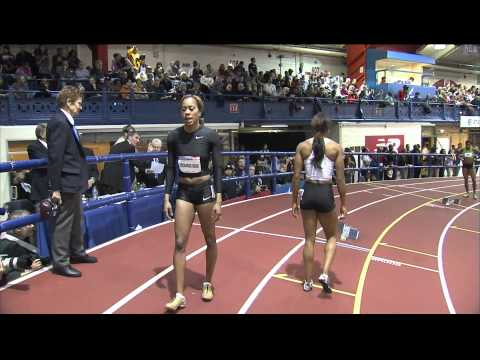 W 400 F01 (Richards-Ross Nears American Record Millrose Games 2012)