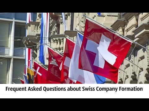 Frequent Asked Questions about Swiss Company Formation