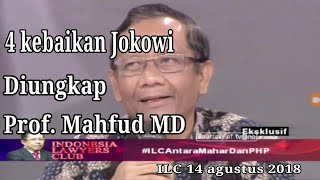 Video PROF. MAHFUD MD ungkap 4 Kebaikan Jokowi. Semua terdiam, Mardani Ali Sera manyun!! MP3, 3GP, MP4, WEBM, AVI, FLV November 2018