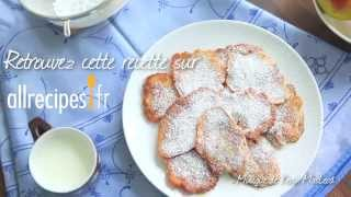 Vidéo des pancakes aux pommes