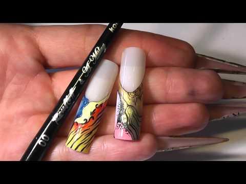 FirstGel present A.Milay & Kolinsky brushes