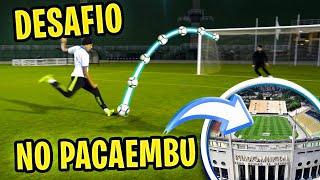 DESAFIO DE PÊNALTI NO PACAEMBU! feat. FOOTZ
