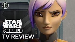 "Star Wars Rebels Season 4 Premiere ""Heroes of Mandalore Parts 1 & 2"" Review by Collider"