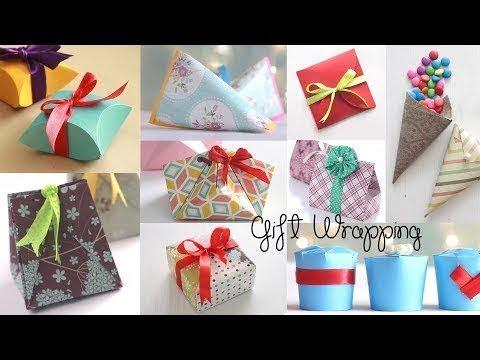 घर पर तोहफे को कैसे पैक करे ? | How to Wrap a Gift Box Easily at Home !