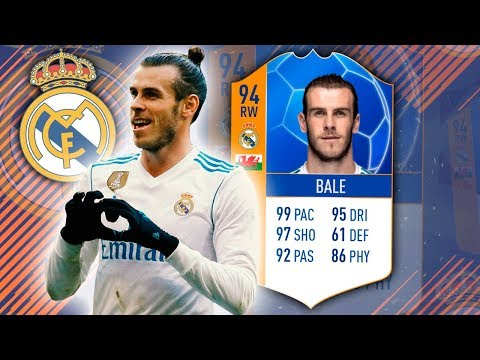 MOTM BALE 94! 99 SHOTPOWER & 99 LONGSHOTS! FIFA 18 ULTIMATE TEAM
