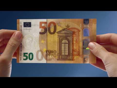 Video - Πώς θα γίνει η αντικατάσταση των παλιών χαρτονομισμάτων των 50 ευρώ