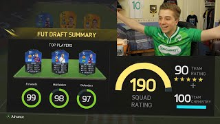 Video FIFA 16 - MY BEST OF 50 DRAFTS | THE FABLED 190! MP3, 3GP, MP4, WEBM, AVI, FLV Januari 2019