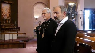 Prime Minister Nikol Pashinyan Visited St. Vartan Armenian Cathedral in NY
