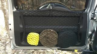 I show you an inexpensive way to add storage to the rear door area of an SUV. It worked well for my FJ Cruiser and is budget friendly, easy to install and no...