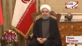 Встреча Президента Азербайджана и Президента Ирана в узком составе