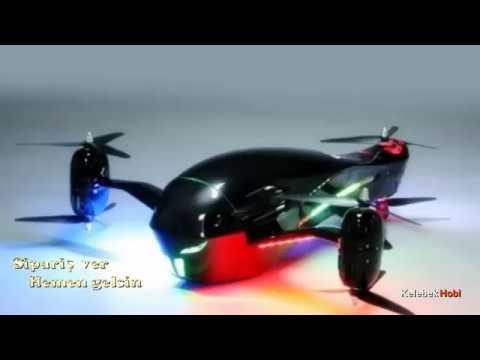 RC Drone. Futuristic Design Outdoor Scale Model
