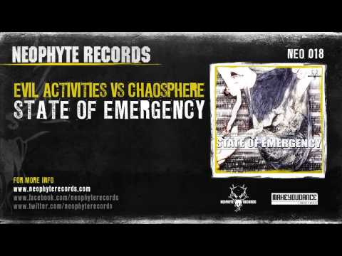Evil Activities vs. Chaosphere - State Of Emergency