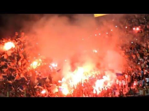 Recibimiento Hinchada Nacional  |  Copa Bandes 2016 - La Banda del Parque - Nacional