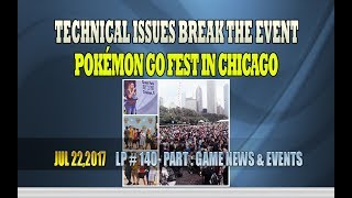 "Technical issues break the event Pokémon Go Fest in Chicago - LP 140Please Subscribe  : https://goo.gl/cFYlJ7Technical issues break the event Pokémon Go Fest in Chicago.It's a little unhappy for fans to travel to Chicago's Grant Park to join and buy legendary pokémon, but the excitement has completely disappeared.The game can not be played due to the technical failure factors that Pokemon gamers are completely elusive to capture everything as desired.Chief marketing officer Mike Quigley told the crowd that Niantic decided to make a refund and $ 100 in the Pokécoins.This representative adds that it's a small gesture, but we're sorry.However, Niantic will also be expanding the radius where the player must be inside to catch rare Pokémon to cover two miles outside the park in the next 24 hours.Estimates from Niantic leading into the event pinned the crowd at around 15-20,000 attendees. Within minutes of the first attendees filing into Grant Park, the cell networks got shaky, then every network was down. Pokémon Go itself was having issues. Some attendees look disgruntled, they chant ""FIX YOUR GAME"" or ""WE CAN NOT PLAY!"". As a result, Niantic has announced that they will be reimbursed to attendees in addition to giving them $ 100 in in-game currency or Pokécoins. Currently, it is not clear if Niantic will automatically refund attendees or only those who request. Niantic says they will send an email with details to the attendees in a short time.The situation seems to have improved a few hours ago, but perhaps things still have to wait ...More info about pokemon go :Pokémon Go is a virtual interactive gamedevelopedby Niantic and released by The Pokémon Company for iOS and Android devices in the Pokémon series. The game was launched globally in July 2016,  along with a small Nintendo gadget designedPokémon Go Plus, which will use Bluetooth connectivityto inform people. Play when there are Pokémon close to an LED screenand a notification light. Pokémon Go Plus will be sold separately from the app. The game allows players to capture, fight, train and exchange Pokémon through the real world using GPS and the camera of the device. This is a free downloadable game, but there is support for in-app purchases so that players can buy items in the game.ThanksPlease subscribe, like,shareLucy protopnail channel – Part : World NewsGame news and events.My blog : https://lphotnews.blogspot.com/"