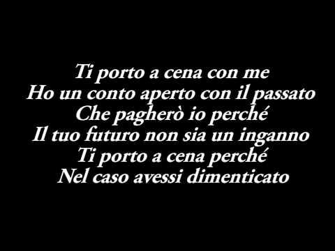 , title : 'Giusy Ferreri - Ti Porto A Cena Con Me Testo - Sanremo 2014'