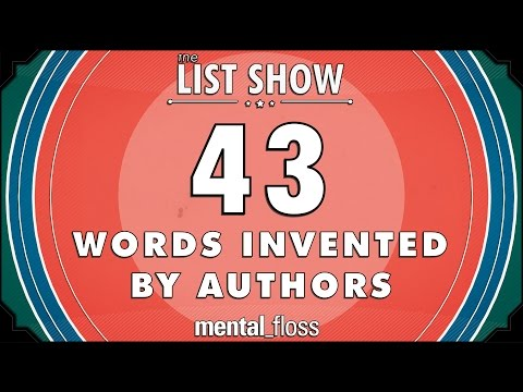 43 Words Invented by Authors