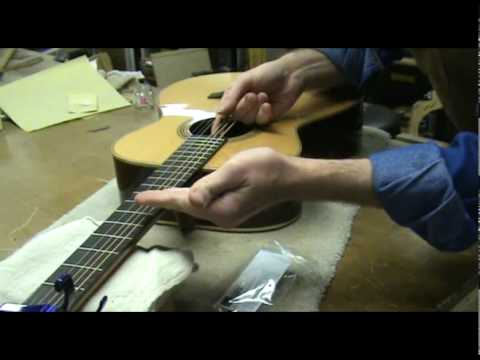 Luthier Tips du Jour – Acoustic Guitar Set Up