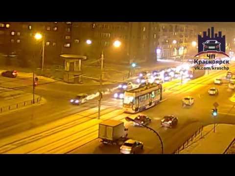 Красноярский рабочий - Сибирский переулок 20.01.2017
