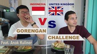 Video INDONESIA VS UK!!! GORENGAN CHALLENGE FEAT ANAK KULINER #masakbarengbangben #thegoddards MP3, 3GP, MP4, WEBM, AVI, FLV September 2018