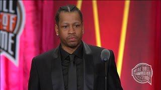 Video Allen Iverson's Basketball Hall of Fame Enshrinement Speech MP3, 3GP, MP4, WEBM, AVI, FLV Juni 2019
