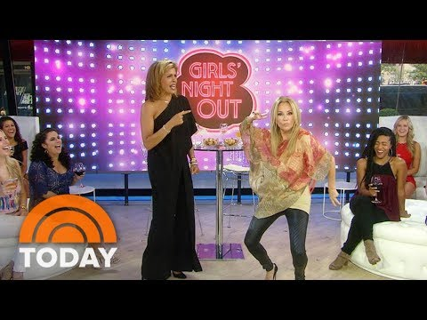 Kathie Lee Gifford Demonstrates Her Go-To Dance Move   TODAY