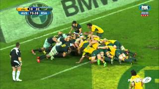 Wallabies: Hooper puts in the Hits | Rugby Championship Highlights