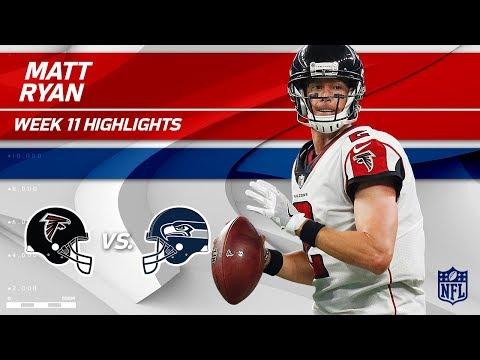 Video: Matt Ryan Helps Lead Atlanta to Victory w/ 2 TDs! | Falcons vs. Seahawks | Wk 11 Player Highlights