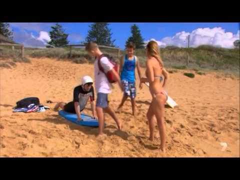 Samara Weaving aka Indi Home and Away Bikini Hot Scene