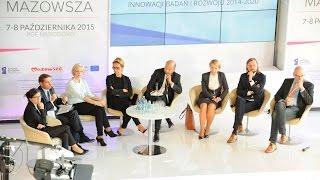 Źródła finansowania innowacji, badań i rozwoju 2014-2020 - debata w ramach 6 Forum Rozwoju Mazowsza