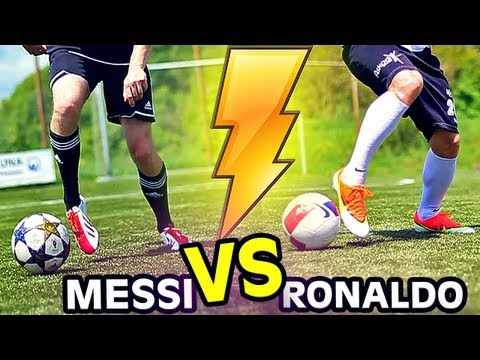 Mercurial - Nike Vapor 9 IX vs. F50 Messi im Test (deutsch/german) + English Testing Cristiano Ronaldo vs. Messi Soccer Boots 2013 Review Instagram: http://instagram.com...