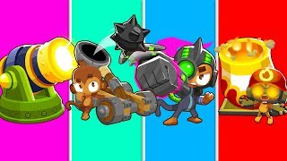 Bloons TD 6 - 4-Player AGE Of WAR Challenge   JeromeASF
