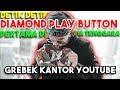 ATTA DIAMOND PLAY BUTTON Pertama Di ASIA TENGGARA! 11 M SUBS! + GREBEK KANTOR YOUTUBE
