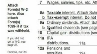 How to Complete a 1040A Tax Form : 1040A Income Section Tips
