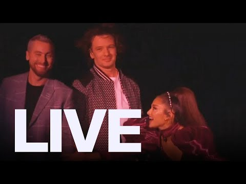 Ariana Grande With Nsync At Coachella | Et Canada Live