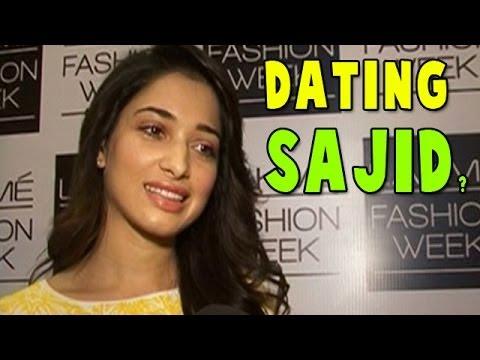 s Tamanna Bhatia dating Sajid Khan ?