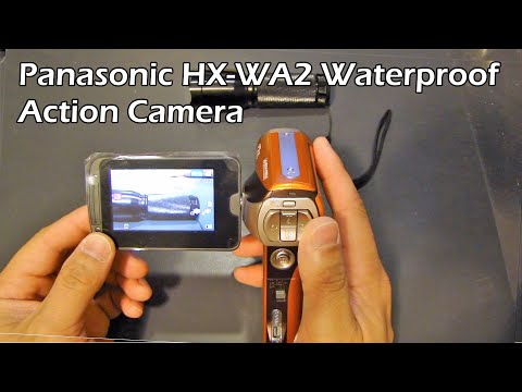 Panasonic HX-WA2 Waterproof Camera - Unboxing