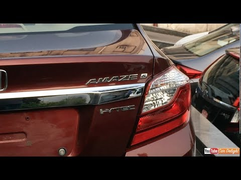 Honda Amaze S Model Inteior and Exterior Walkaround Review