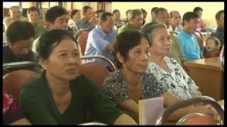 Tuyên truyền đối thoại về chính sách BHXH tự nguyện và bảo hiểm y tế cho hội viên Hội Nông dân phường Yên Thanh